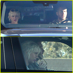 Taylor Swift Goes for Drive With Calvin Harris