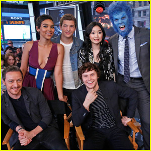 'X-Men: Apocalypse' Cast Visit 'Good Morning America'