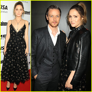Rose Byrne & James McAvoy Screen 'X-Men' in Big Apple