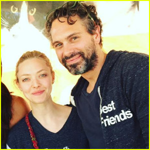Amanda Seyfried & Boyfriend Thomas Sadoski Make It Instagram Official
