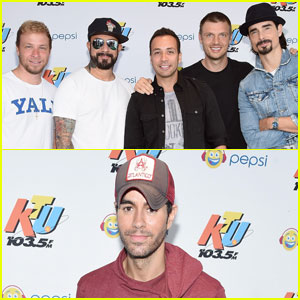 Backstreet Boys & Enrique Iglesias Peform at KTUphoria 2016