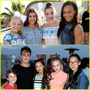 'Bizaardvark' & 'Dance Moms' Casts Help Just Jared Jr. Celebrate Disney's MXYZ Collection