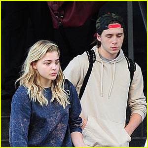 Chloe Moretz Snapped a Pic of Boyfriend Brooklyn Beckham Cuddling with Another Girl!