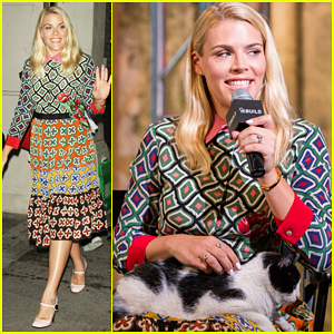 Busy Philipps Hits NYC For 'Vice Principals' Promo!