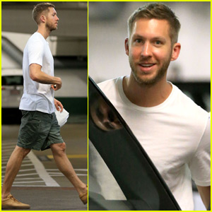 Calvin Harris Steps Out For the First Time Since Split With Taylor Swift