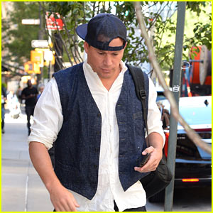 Channing Tatum Keeps Things Cool in NYC