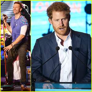 Chris Martin Helps Prince Harry Raise Funds At Sentebale Fundraiser Concert!