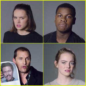 Daisy Ridley & John Boyega Revisit 'Star Wars' Auditions in 'SNL' Bonus Video - Watch!