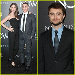 Dave Franco, Alison Brie & Daniel Radcliffe Hit 'Now You See Me 2' Premiere
