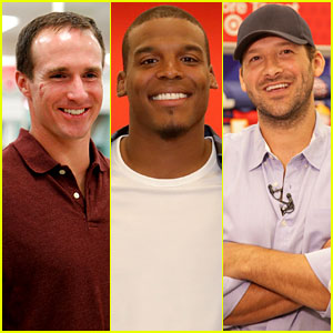 Drew Brees, Cam Newton, & Tony Romo Surprise Target Shoppers for Father's Day