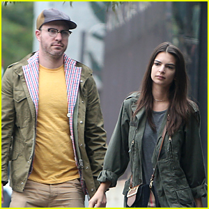 Emily Ratajkowski & Boyfriend Jeff Magid Match in Yellow