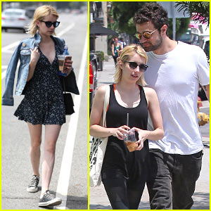 Emma Roberts Steps Out with Rumored Boyfriend Christopher Hines!