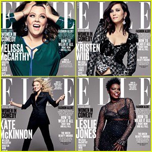 'Ghostbusters' Actresses Cover Elle's First Women in Comedy Issue!
