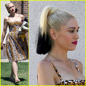 Gwen Stefani Shows Style at Son Zuma's Basketball Game