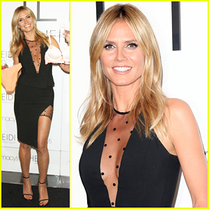 Heidi Klum Says Lingerie 'Enhances Your Beauty & Makes You Feel More Confident'