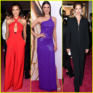 Irina Shayk, Alessandra Ambrosio, & Doutzen Kroes Are Hot Supermodels at CFDA Fashion Awards 2016!