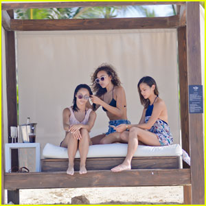 Jamie Chung & Cara Santana Enjoys a Girls' Vacay With Pal Ashley Madekwe