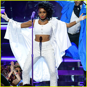 Janelle Monae's Performs Prince Tribute at BET Awards 2016 - Watch Now!