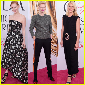Jessica Chastain, Tilda Swinton & Claire Danes Get Chic at CFDA 2016