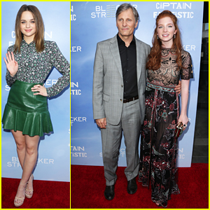 Joey King Supports Bff Annalise Basso At Captain Fantastic Premiere Ruth Negga Incontenders Afi