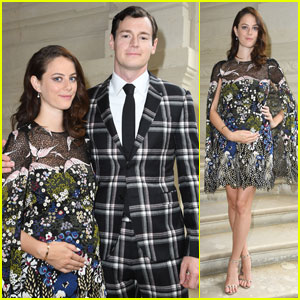 Kaya Scodelario Shows Off Her Baby Bump at Valentino Show