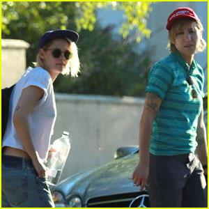 Kristen Stewart's Girlfriend Alicia Cargile Wears 'Make America Gay Again' Hat
