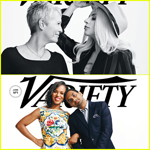 Lady Gaga & Kerry Washington Take on Variety's 'Actors on Actors' Covers