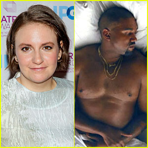 Lena Dunham Slams Kanye West's 'Famous' Video