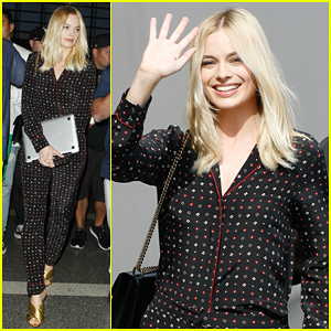 Margot Robbie Tells The Story Of Her 24-Hour 24th Birthday Party!
