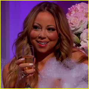 Mariah Carey Gets Into A Bathtub With Jimmy Kimmel! (Video)