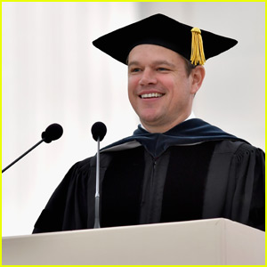 Matt Damon Urges Graduates to Embrace Failure