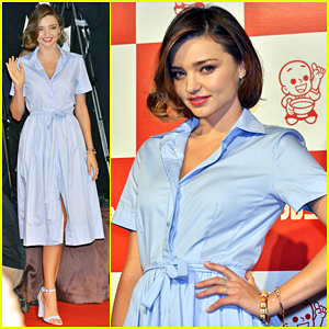Miranda Kerr Shows Off Cooking Skills At Marukome Miso Launch!