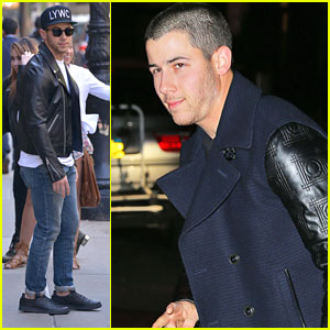 Nick Jonas Hits Kate Upton's Birthday Bash In NYC