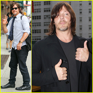 Norman Reedus Shares His Favorite Zombie Kills From 'The Walking Dead'! (Video)