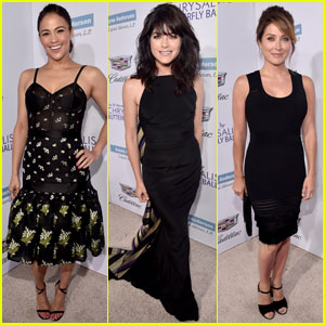 Paula Patton & Selma Blair Attend Chrysalis Butterfly Ball 2016