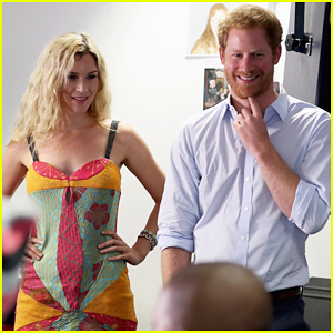 Prince Harry Joins Joss Stone At Basotho Youth Choir Rehearsal!
