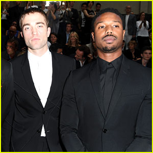 Robert Pattinson & Michael B. Jordan Suit Up for Dior Homme Fashion Show in Paris!