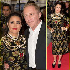 Salma Hayek Reveals Her Secret to a Happy Marriage