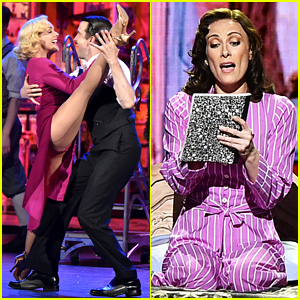 Meg Ryan Introduces 'She Loves Me' Cast at Tony Awards 2016 (Video)