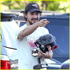 Shia LaBeouf Ends Up in North Carolina on Hitchhiking Trip