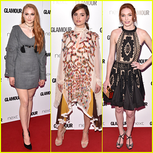 Sophie Turner Joins Jenna Coleman for Glamour Women of the Year Awards