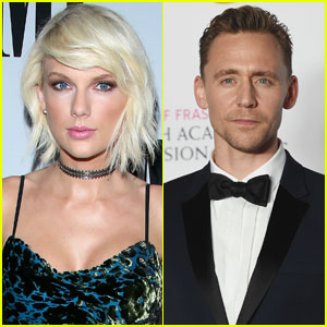 Taylor Swift & Tom Hiddleston Kiss & Hold Hands in Rhode Island