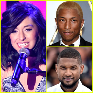 The Voice's Pharrell Williams & Usher React to Christina Grimmie's Death