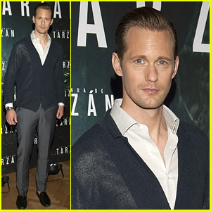 Alexander Skarsgard Got a 'Nice Breeze' in His Loincloth