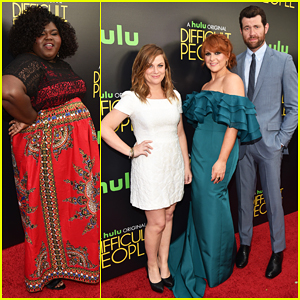 Amy Poehler Teams Up With Julie Klausner & Billy Eichner At 'Difficult People' Premiere!
