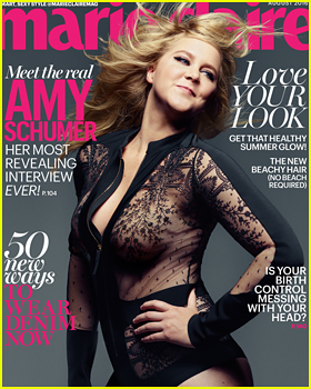 Amy Schumer Tells 'Marie Claire' That Being In Love With Ben Hanisch Is Scariest Thing In The World