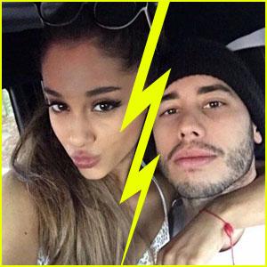 Ariana Grande Splits With Boyfriend Ricky Alvarez