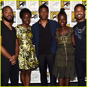 Michael B. Jordan & Lupita Nyong'o's 'Black Panther' Casting Officially Announced at Comic-Con!
