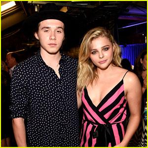 Chloe Moretz Brings Boyfriend Brooklyn Beckham to Teen Choice Awards 2016!