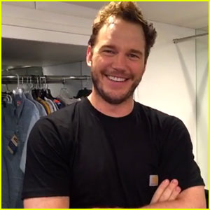 Chris Pratt Shares Behind the Scenes Look at New Photo Shoot